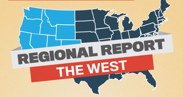 A state-by-state look at what Western states have to o er businesses.