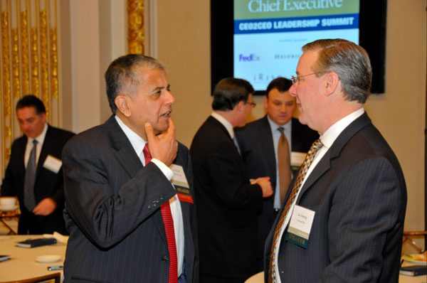 Bausch & Lomb's Fred Hassan, Covance's Joe Herring