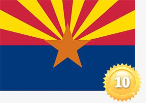 No 10: Arizona