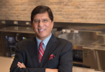 Aslam Khan, CEO of TGI Fridays