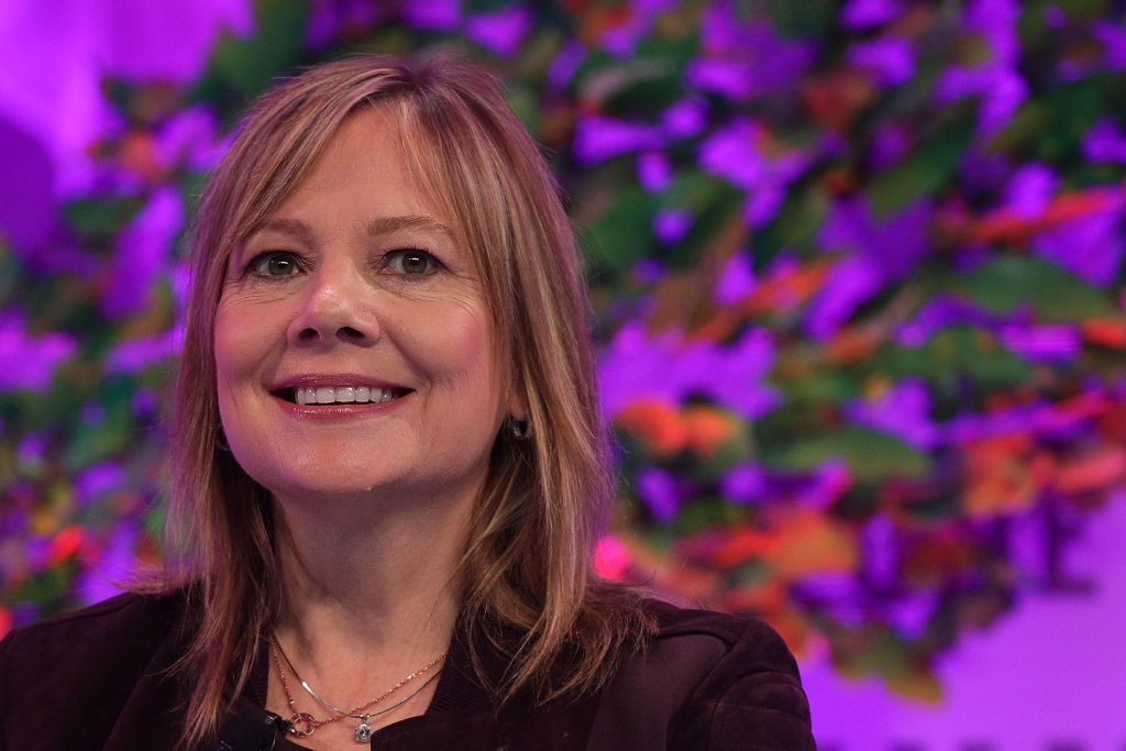 Mary Barra, CEO of GM