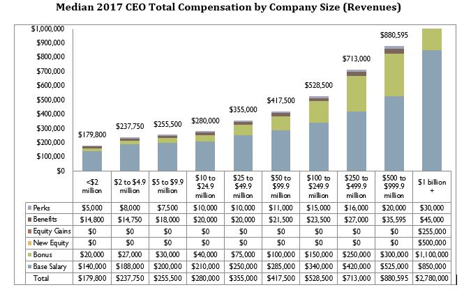 CEO and Senior Executive Compensation in Private Companies